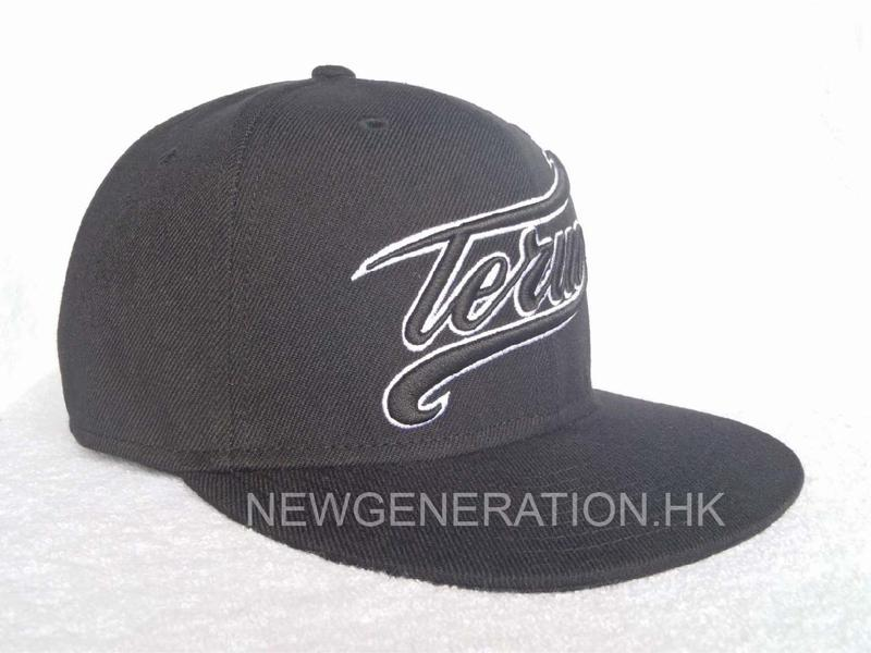 Snap Back Cap With 3D Embroidery and Sublimation Lining