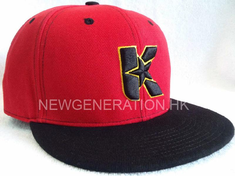 Acrylic Snapback Cap With 3D Embroidery