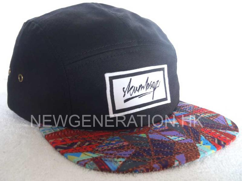 5-Panel Hat With Woven Label