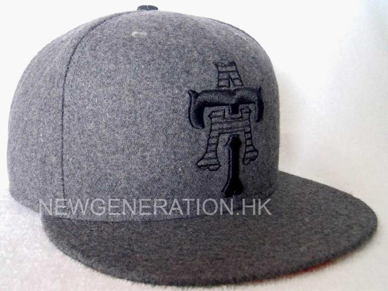 Hairy Wool Snapback Cap With Sublimation Satin Lining