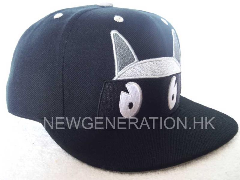Acrylic Snapback Cap With Flat Embroidery