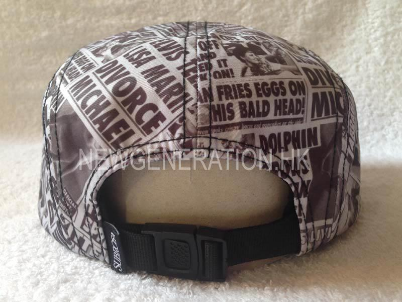 Sublimation Print Camp Cap With Woven Label 4