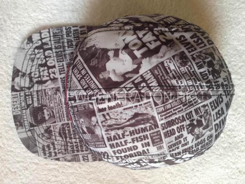 Sublimation Print Camp Cap With Woven Label 5