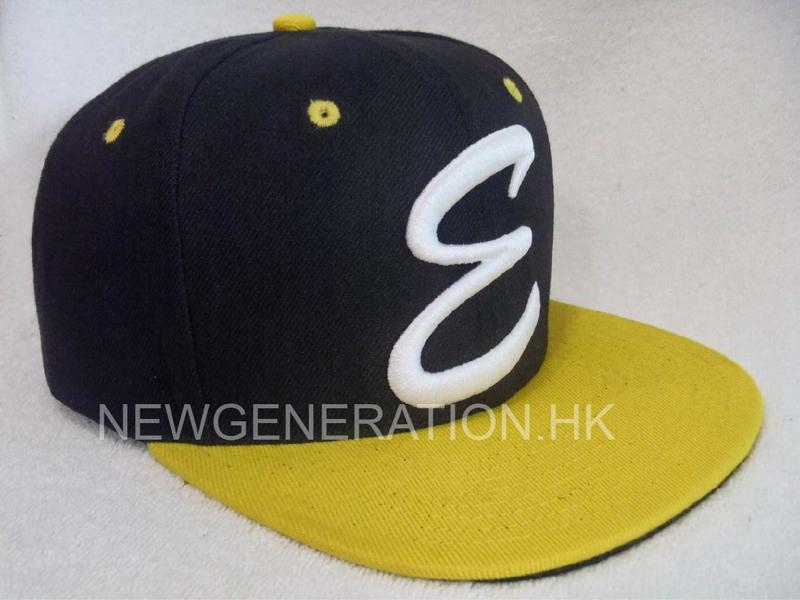 Acrylic 6 Panel Snapback Cap With 3D Embroidery Logo