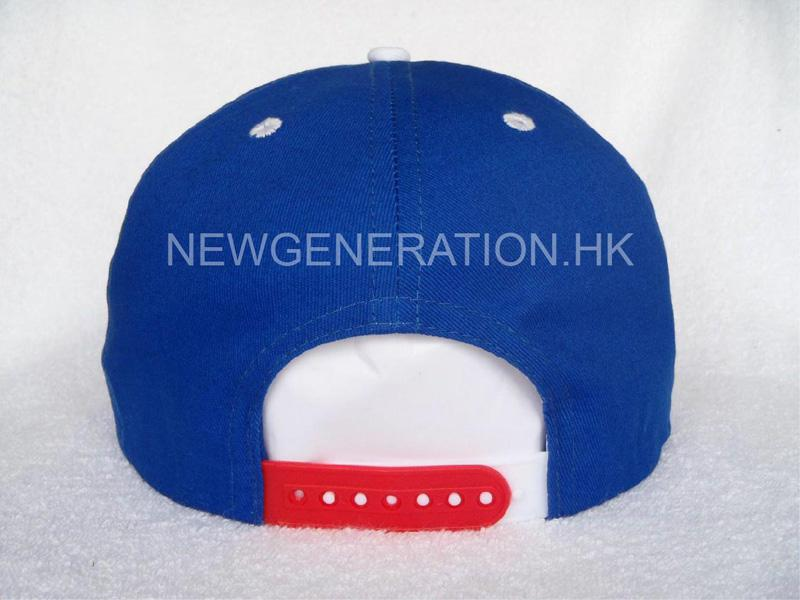 Cotton Snapback Cap With 3d Embroidery5