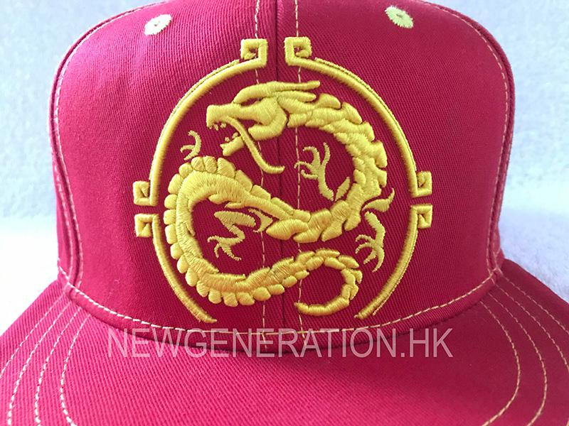 3Custom Cap Manufactured With Detailed Embroidery