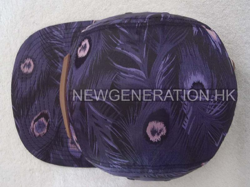 Customers Fabric 5 Panel Camp With Leather Deboss Patch4