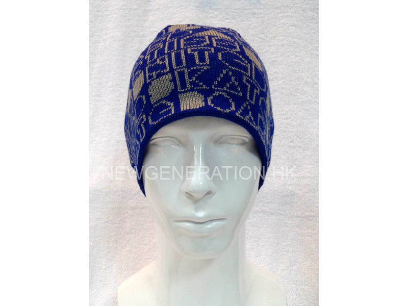 Beanie with Jacquard Pattern