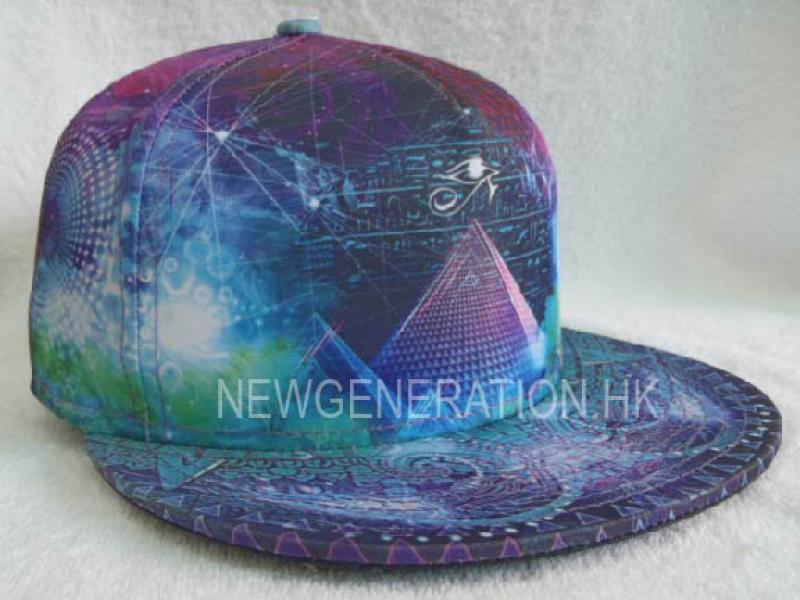 Sublimation Print Fitted Cap 1