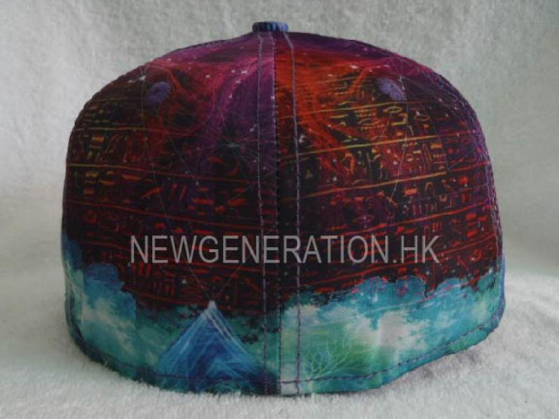 Sublimation Print Fitted Cap 5