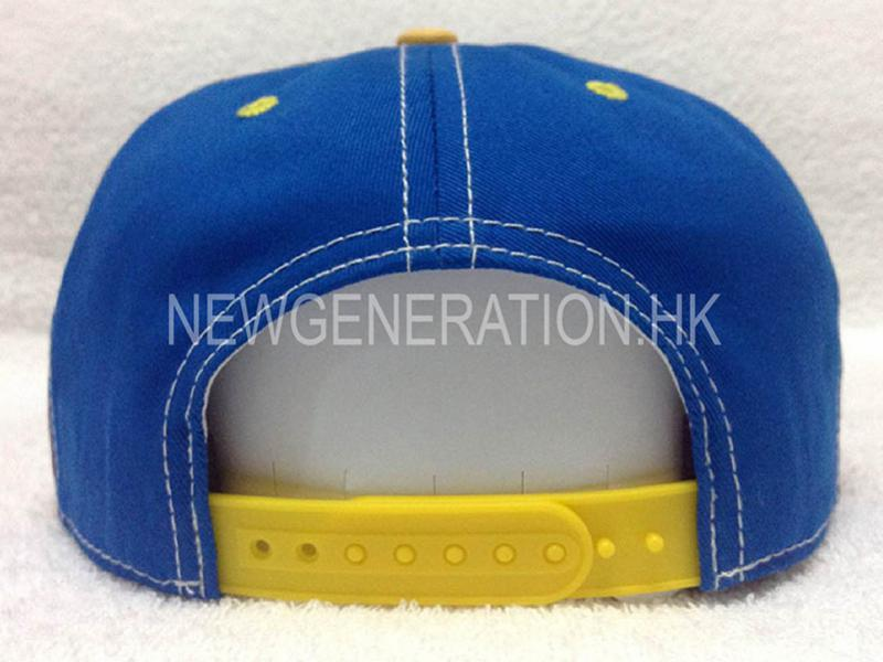 Cotton Snapback Cap With Mutlicolor 3d Embroidery4