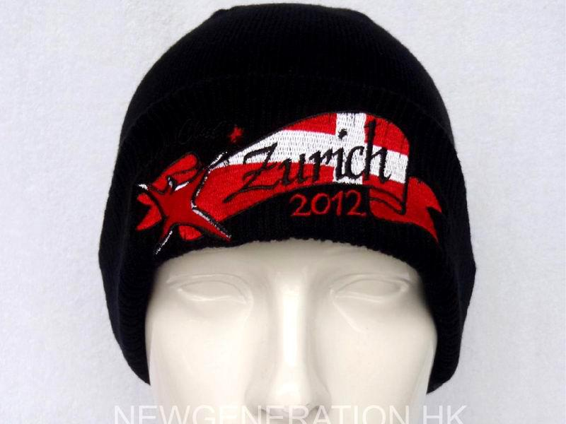 Acrylic Beanie with Embroidery Logo