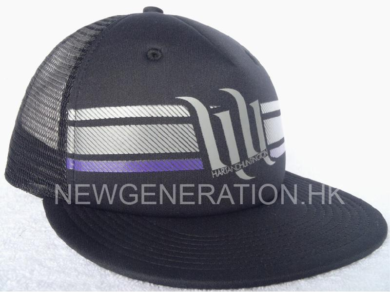 Mesh Trucker Cap with Foam Front and Print Logo