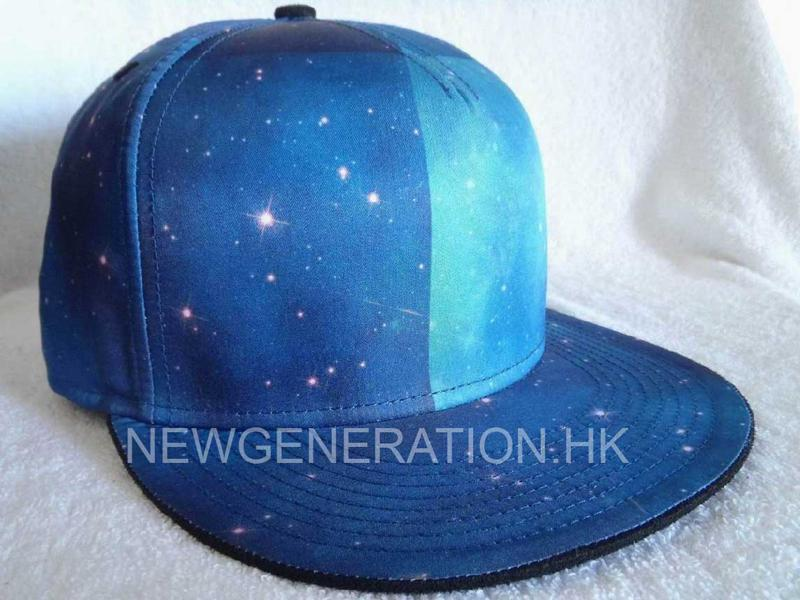 Polyester Cap With Sublimation Crown1