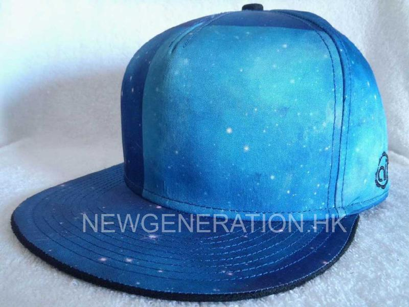 Polyester Cap With Sublimation Crown2