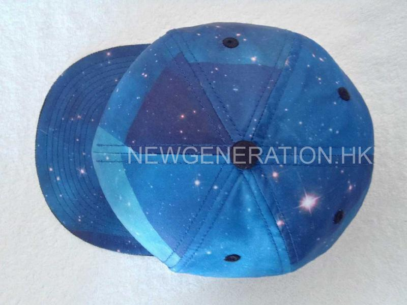 Polyester Cap With Sublimation Crown3