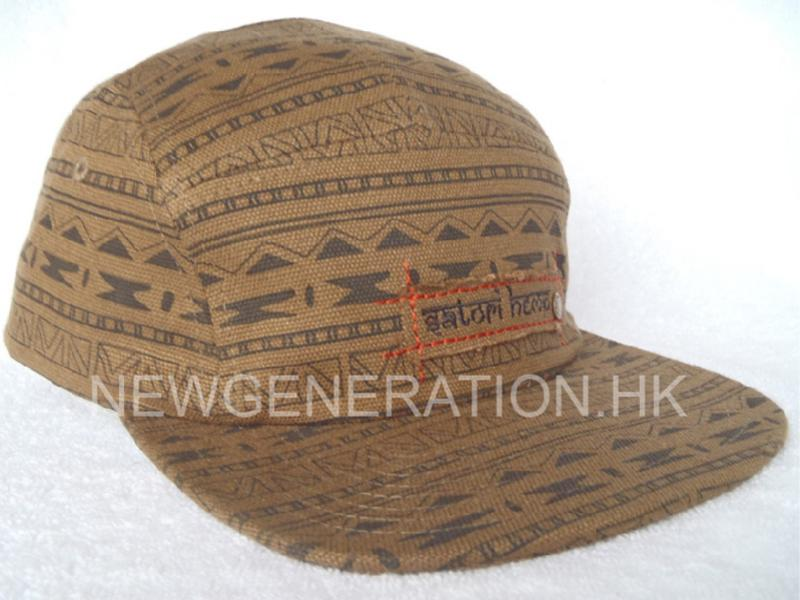 Camp Cap With Customer Fabric