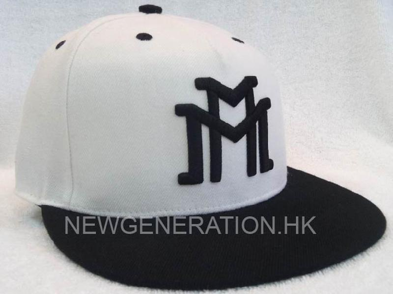 Snap Back Cap With 3D Raised Embroidery