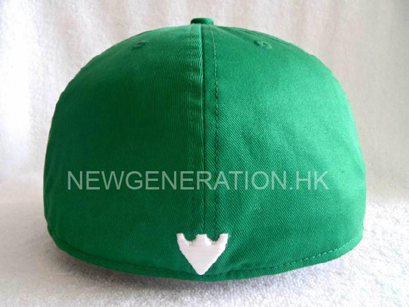 Cotton Fitted Cap With 3d Embroidery5