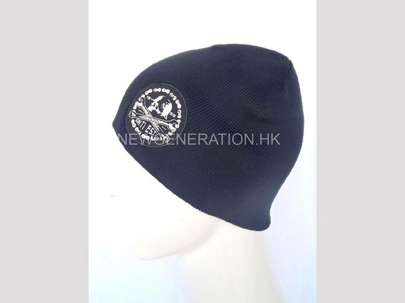 Beanie Hat With Printed Patch2