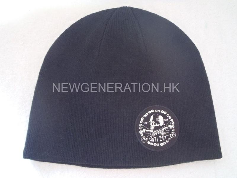 Beanie Hat With Printed Patch4
