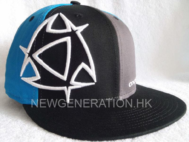 Fitted Cap With 3D Embroidery